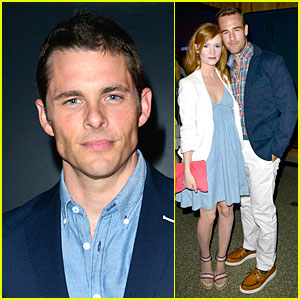 James Marsden & James Van Der Beek: Tommy Hilfiger Surf Shack Celebration!