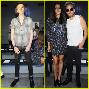 Jamie Campbell Bower: Diesel Black Gold Fashion Show!