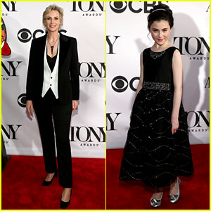 Jane Lynch: Tony Awards 2013 Red Carpet with Lilla Crawford!