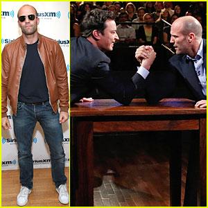 Jason Statham: Arm Wrestling on 'Fallon'!