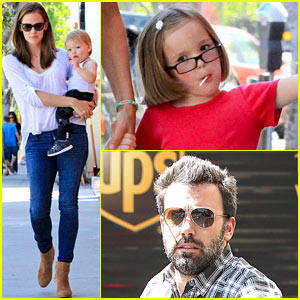 Jennifer Garner: Haircuts for Seraphina & Samuel!