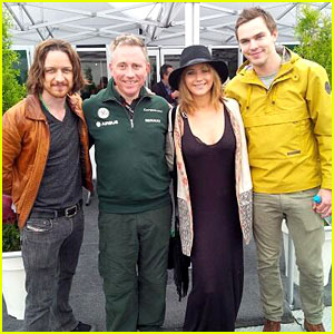 Jennifer Lawrence & Nicholas Hoult: Canadian Grand Prix!