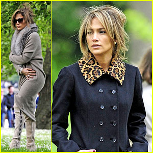Jennifer Lopez: Photo Shoot in London's Hyde Park!