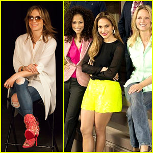 Jennifer Lopez Poses with 'The Fosters' Cast for Promo Pic