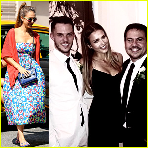 Jessica Alba Attends Narciso Rodriguez's Wedding in NYC!