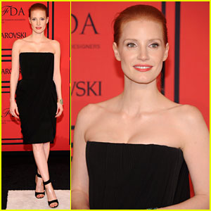 Jessica Chastain - CFDA Fashion Awards 2013 Red Carpet