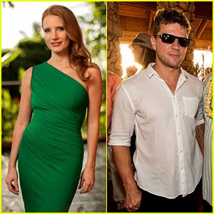 Jessica Chastain & Ryan Phillippe: Maui Film Festival Opening!