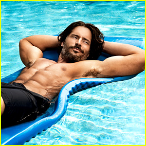 Joe Manganiello: Shirtless Pool Boy for 'Men's Health'!