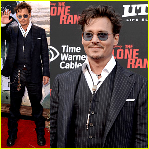 Johnny Depp: 'Lone Ranger' Disneyland Premiere!