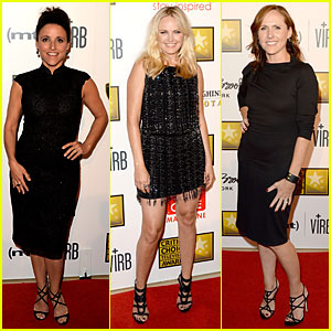 Julia Louis-Dreyfus & Malin Akerman - Critics' Choice TV Awards 2013