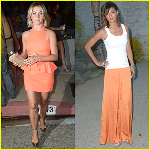 Julianne Hough & Jessica Szohr: Svedka Splash Summer Party!