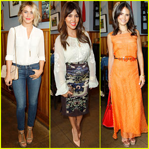 Julianne Hough & Kourtney Kardashian: Paper Denim & Cloth and Baby2Baby Lunch!