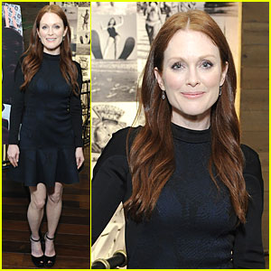 Julianne Moore: 'DuJour' Magazine Summer Issue Cover Party!
