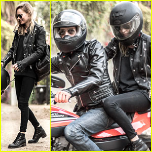 Kate Bosworth: Biker Babe with Michael Polish! (Exclusive Pics)