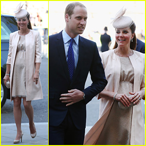 Kate Middleton & Prince William: Queen's Coronation Anniversary!