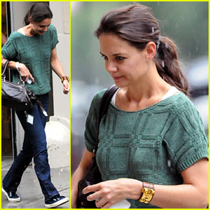Katie Holmes: Dinner with Gloria Steinem!