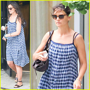 Katie Holmes: John Frieda Hair Appointment!