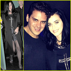 Katy Perry: Bjork Concert with Markus Molinari!