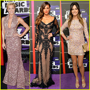 Kellie Pickler & Jana Kramer - CMT Music Awards 2013 Red Carpet