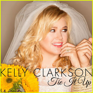 Kelly Clarkson: 'Tie It Up' Cover Art for New Single!