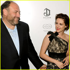 Kristen Stewart on James Gandolfini's Death: It 'Gutted Me'