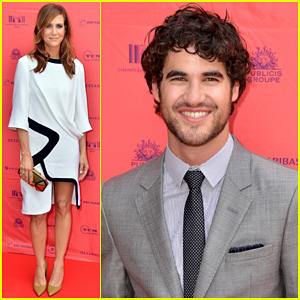 Kristen Wiig: 'Girl Most Likely' Paris Premiere with Darren Criss!