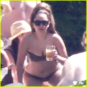Lady Gaga: Bikini Sunbathing in Mexico!