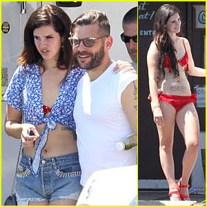 Lana Del Rey: Music Video Bikini Babe!