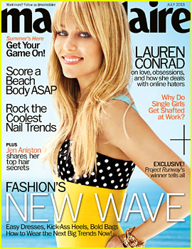 Lauren Conrad Covers 'Marie Claire' July 2013