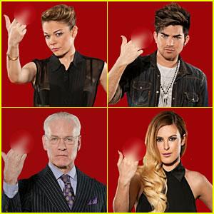 LeAnn Rimes & Adam Lambert: New F Word Anti-Bullying Campaign