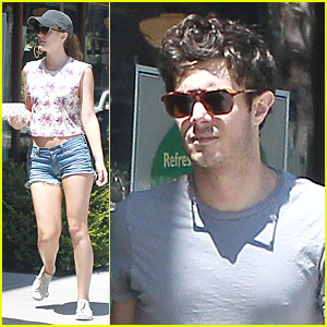 Leighton Meester & Adam Brody: Weekend Breakfast Couple!