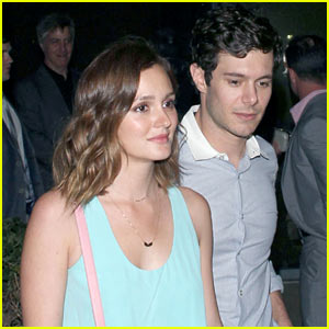 Leighton Meester & Adam Brody: Brickyard Couple After 'Some Girls' Premiere