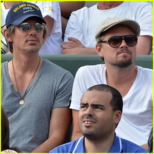 Leonardo DiCaprio Returns to French Open with Lukas Haas