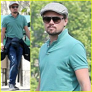 Leonardo DiCaprio Visits Famous Love Locks in Paris!