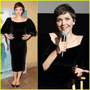 Maggie Gyllenhaal: Just Jared's 'White House Down' Screening!