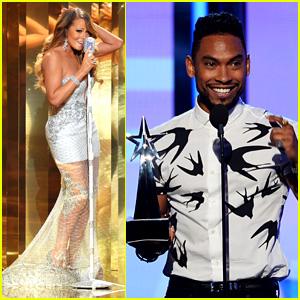 Mariah Carey & Miguel - BET Awards 2013 Performance (Video)