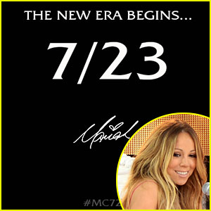Mariah Carey Releasing New Album on July 23!