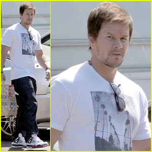 Mark Wahlberg Back in Beverly Hills After 'Transformers 4' Filming