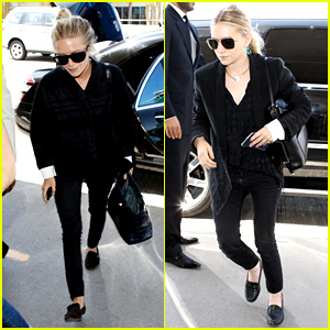 Mary-Kate & Ashley Olsen: Separate LAX Departures!