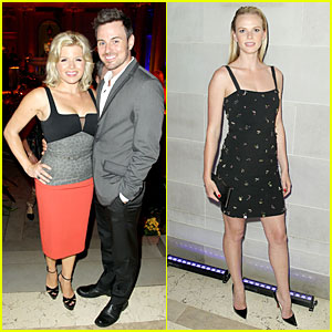Megan Hilty & Anne V: 'White House Down' Premiere After Party!