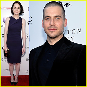 Michelle Dockery: An Evening with 'Downton Abbey' Cast!