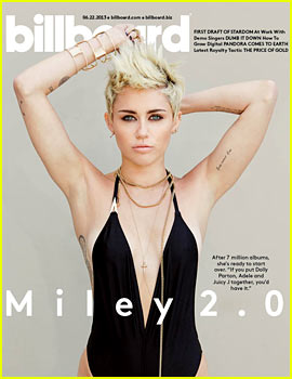 Miley Cyrus Covers 'Billboard' After Parent's Divorce News