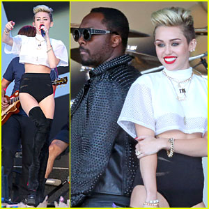 Miley Cyrus: 'Jimmy Kimmel Live' Performance - Watch Now!