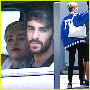 Miley Cyrus: Panda Express Drive-Thru Before Recording Session!