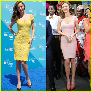 Miranda Kerr: Gillette Venus Step Up & Step Out Tour Launch!