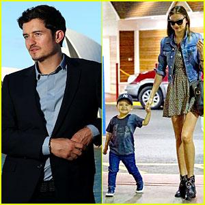Miranda Kerr: NYC Photo Shoot with Flynn!