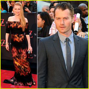 Mireille Enos & James Badge Dale: 'World War Z' Premiere!