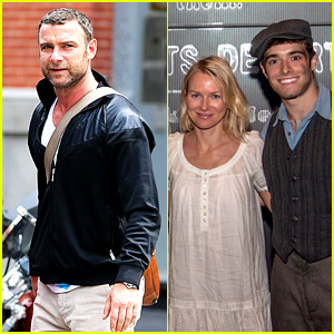 Naomi Watts Sees 'Newsies' Before Father's Day with Family!