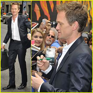 Neil Patrick Harris Talks Tony Awards 2013 on 'David Letterman'