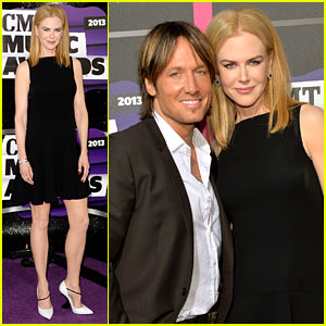 Nicole Kidman & Keith Urban - CMT Music Awards 2013 Red Carpet